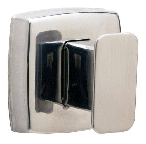 Bobrick B-76717 Commercial Robe & Coat Hook, Stainless Steel w/ Satin Finish - TotalRestroom.com