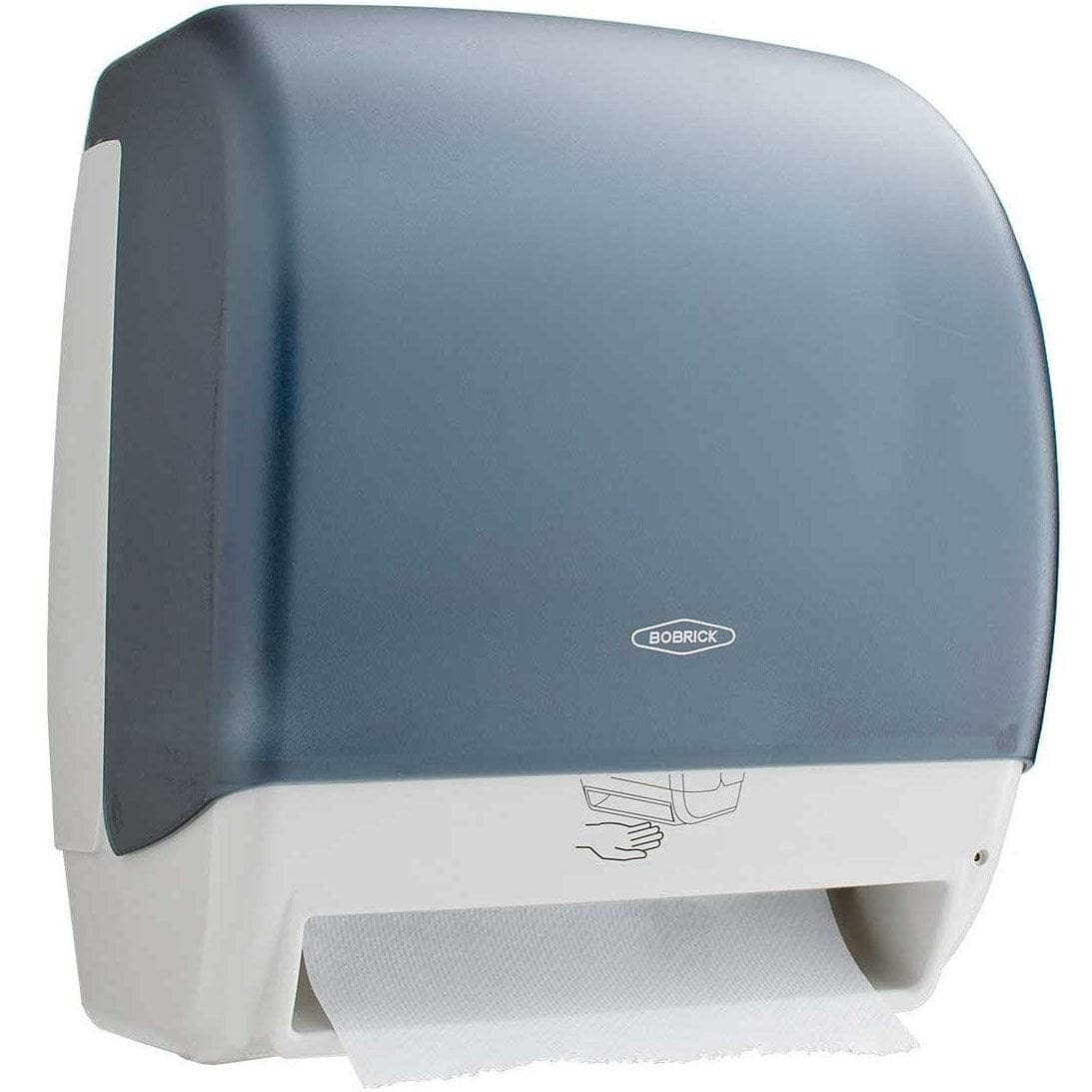 Bobrick B-72974 Automatic Commercial Paper Towel Dispenser, Surface-Mounted, Plastic