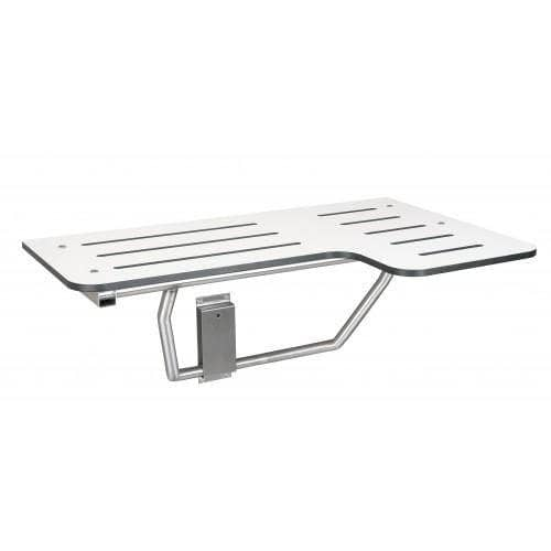 Bradley 9569-00, Shower Seat, 400 lb Load Capacity, Stainless Steel - [product_type] - Bradley