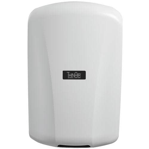 Xlerator TA-ABS ThinAir Hand Dryer, White Polymer (ABS) - TotalRestroom.com