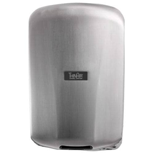 Xlerator TA-SB, ThinAir Hand Dryer, Brushed Stainless Steel - TotalRestroom.com