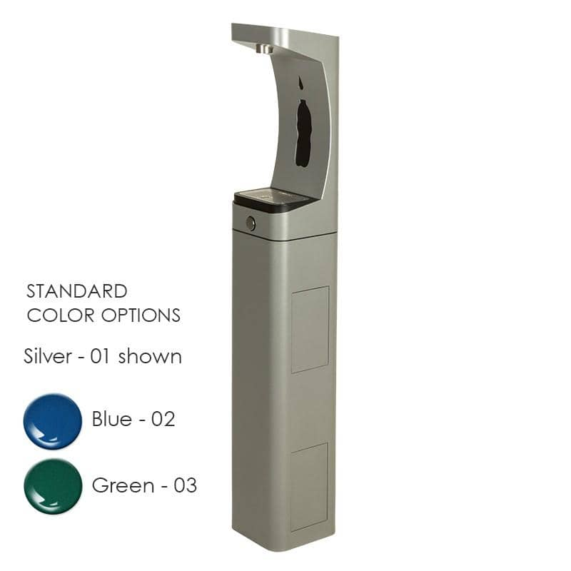 Haws 3610 Modular Outdoor Bottle Filler - TotalRestroom.com