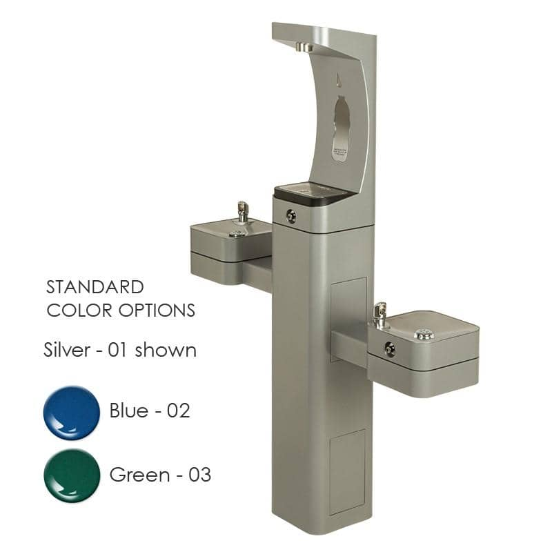 Haws 3612FR Modular Outdoor Freeze Resistant Bottle Filler - TotalRestroom.com