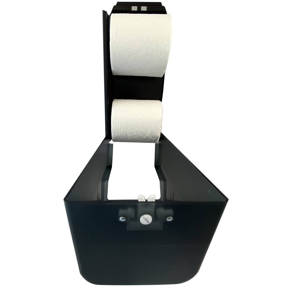 VISTA Standard Roll TP Dispenser, Dark Translucent - TP3004 - TotalRestroom.com
