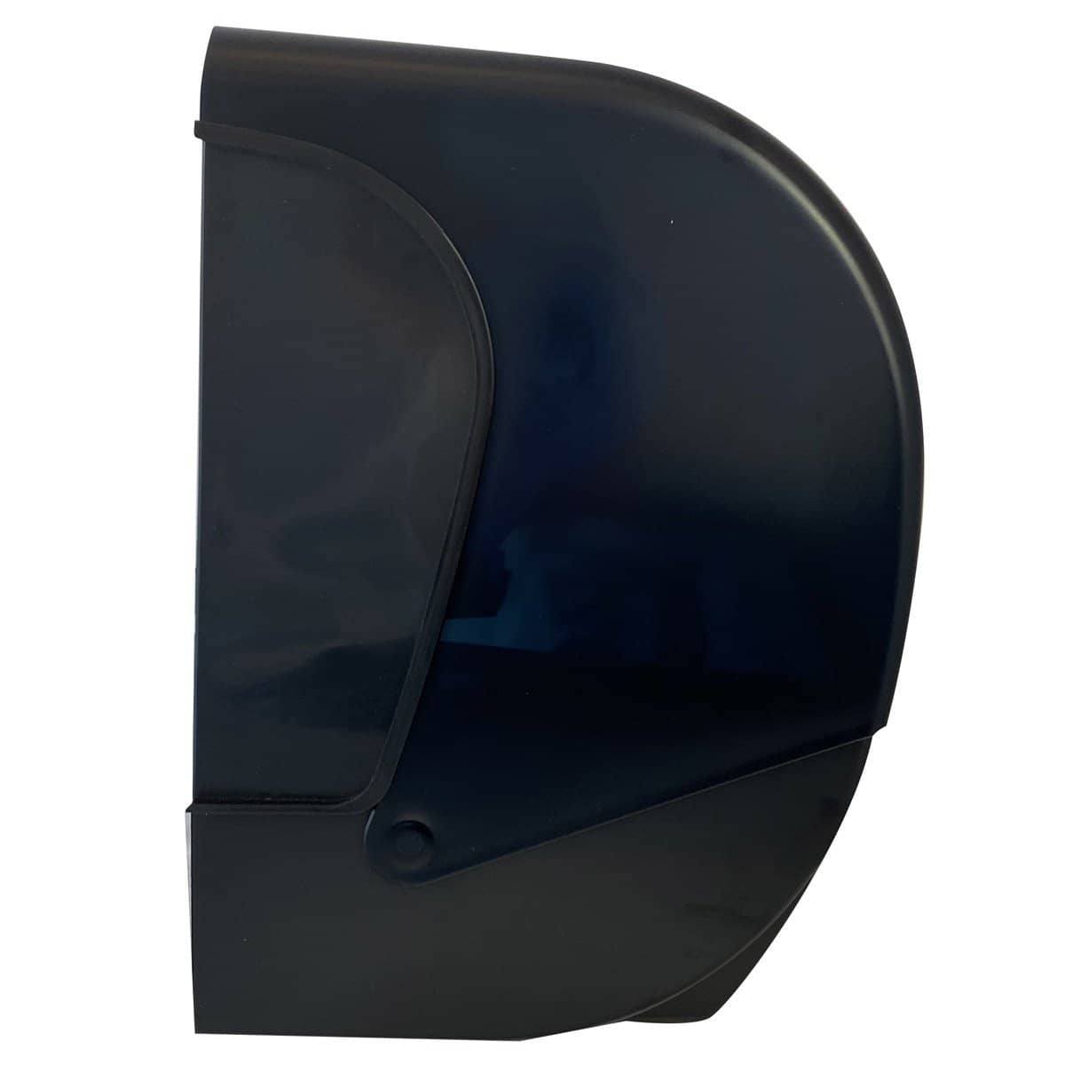 VISTA Electronic Hands Free Roll Towel Dispenser, Black Translucent - PT2006 - TotalRestroom.com