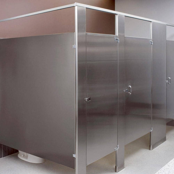 Stainless Steel Toilet Partition - TotalRestroom.com