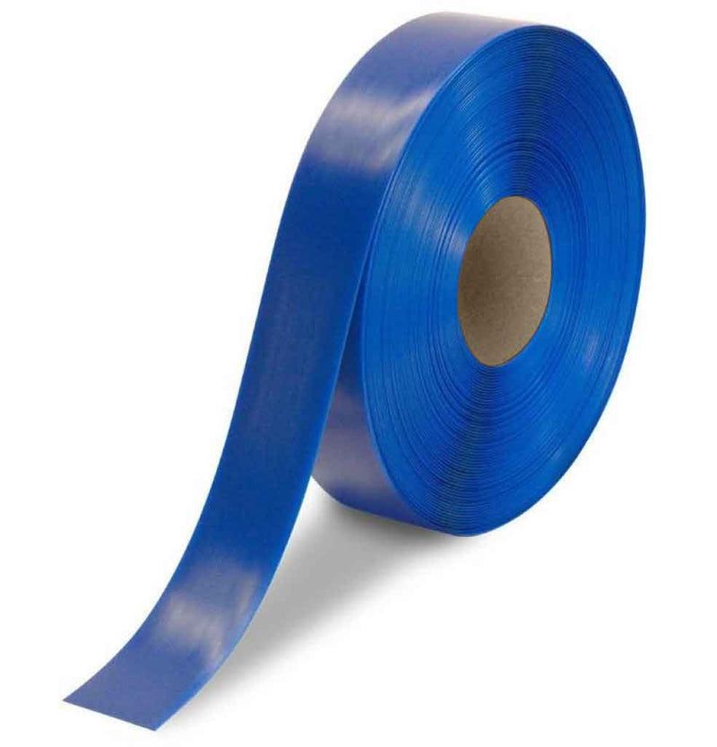 "NMC 50 Mil Heavy Duty Floor Tape, 2"" X 100', Blue - HDT2B - TotalRestroom.com"