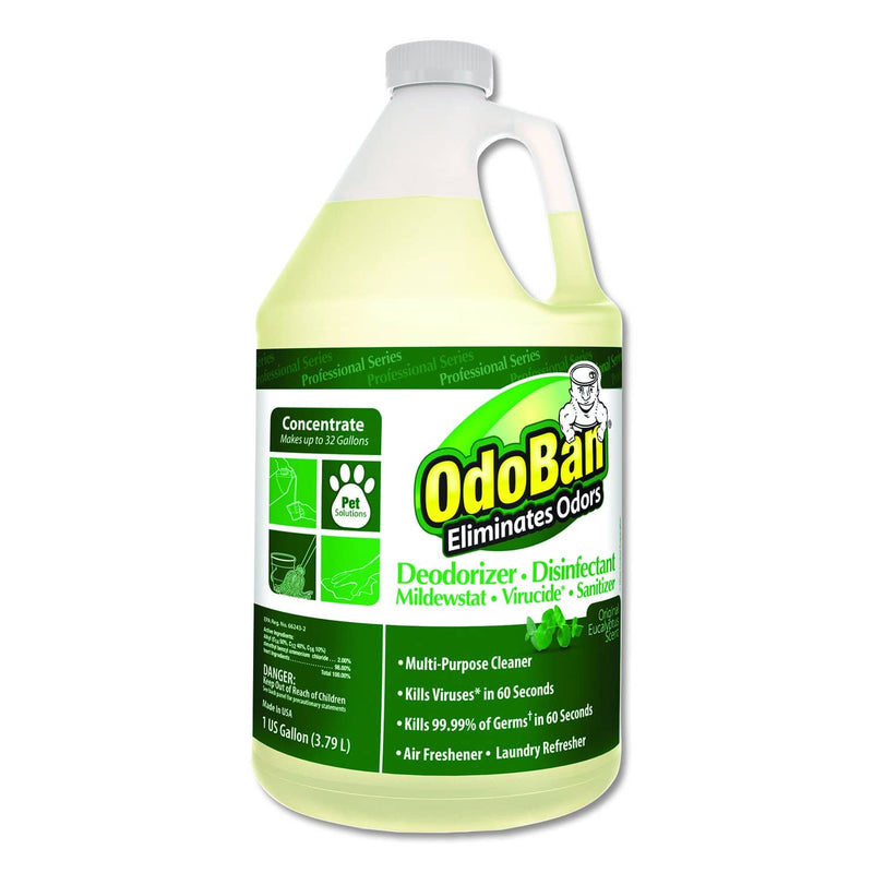 Odoban Disinfectant Kit w/ Sani Professional Isopropyl Alcohol Disinfectant Wipes, Clorox EZ Kill Wipes, Microfiber Cloths and Spray Bottle - ODK-1 - TotalRestroom.com
