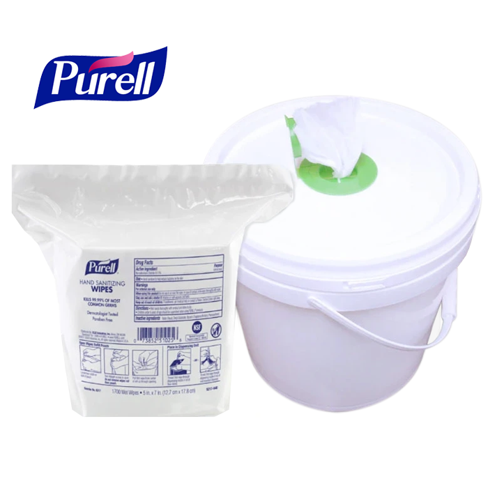 Purell Ultra-High Capacity Hand Sanitizing Wipes, Large 8.25