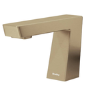Bradley  - S53-3700-RT5-BR - Touchless Counter Mounted Sensor Faucet, .5 GPM, Brushed Brass, Zen Series