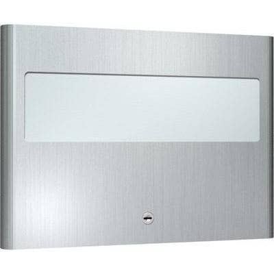 ASI 9477 Commercial Toilet Seat Cover Dispenser, Recessed-Mounted, Stainless Steel - TotalRestroom.com