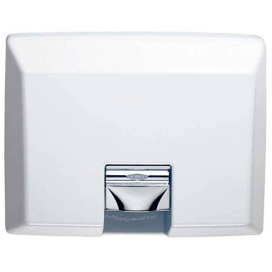Bobrick B-750 Automatic Hand Dryer, 230 Volt, Surface-Mounted, Cast Iron - TotalRestroom.com