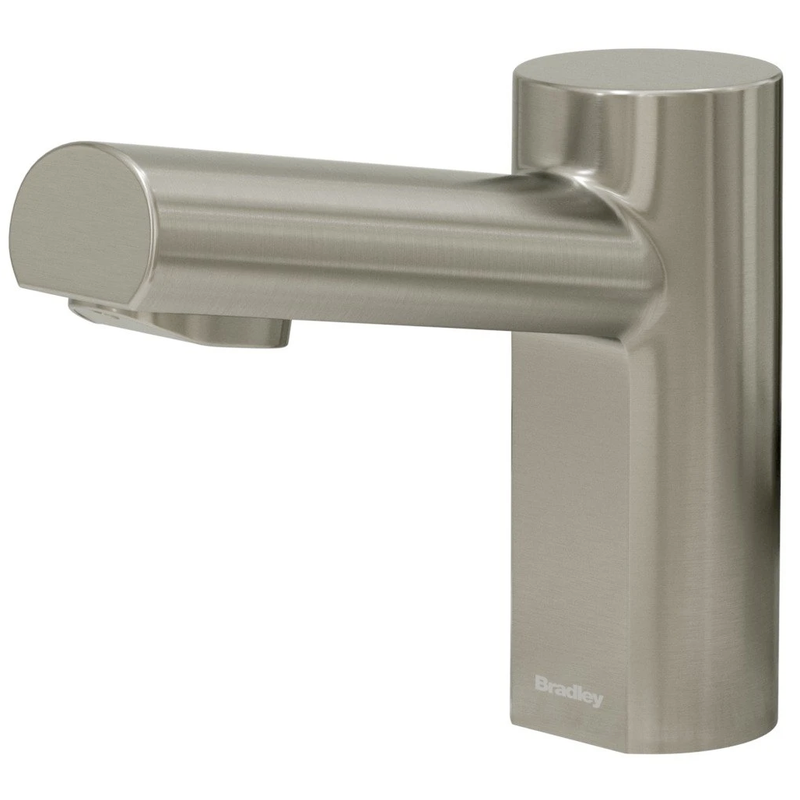 Bradley - S53-3300-RT3-BN - Touchless Counter Mounted Sensor Faucet, .35 GPM, Brushed Nickel, Metro Series
