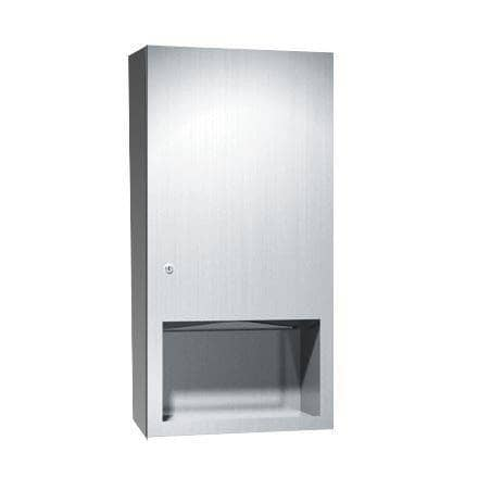 ASI 6452-9 Commercial Paper Towel Dispenser, Surface-Mounted, Stainless Steel-Total Restroom