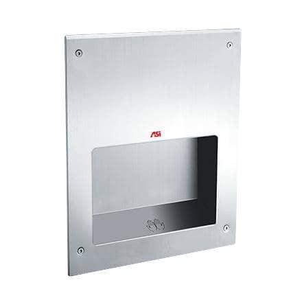 ASI 0198-MH-1 Automatic Hand Dryer, 220-240 Volt, Recessed-Mounted, Stainless Steel - TotalRestroom.com