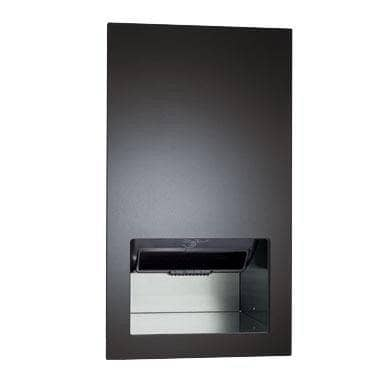 ASI 645210A-41 Automatic Commercial Paper Towel Dispenser/Hand Dryer/Waste Receptacle, Recessed-Mounted, Stainless Steel - TotalRestroom.com