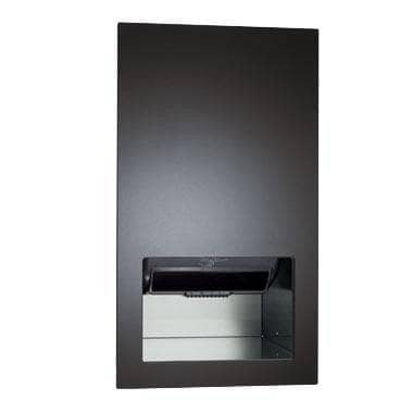 ASI 645210AC-41 Automatic Commercial Paper Towel Dispenser/Hand Dryer/Waste Receptacle, Recessed-Mounted, Stainless Steel - TotalRestroom.com