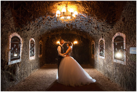 Underground Wedding Image - Seppelt Wines Great Western