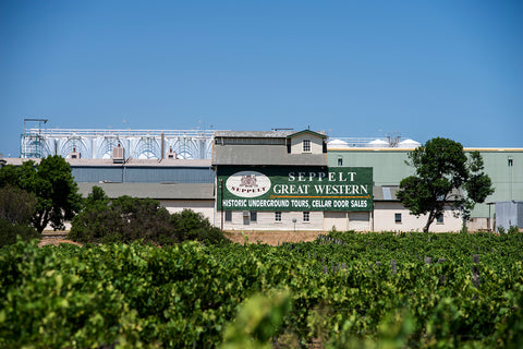 Seppelt Wines in Great Western. One of Australia's oldest wineries