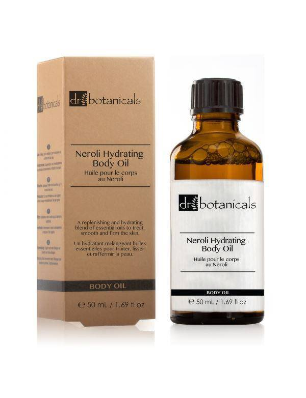 Neroli Hydrating Body Oil - Dr. Botanicals Skincare