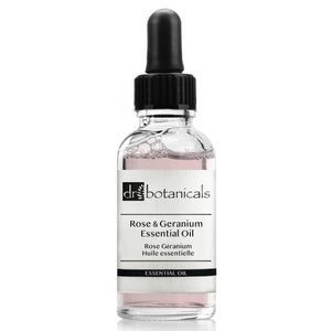Rose & Geranium Essential Oil - Dr. Botanicals Skincare