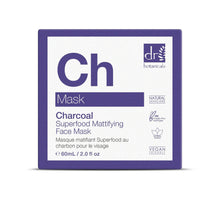Load image into Gallery viewer, Charcoal Superfood Mattifying Face Mask 60mls