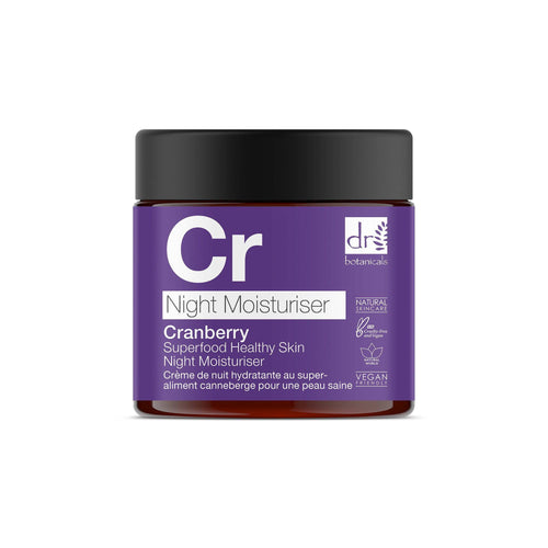 Cranberry Superfood Healthy Skin Night Moisturiser 60mls