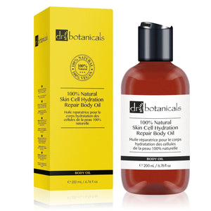 100% Natural Skin Cell Hydration Repair Body Oil - Dr. Botanicals Skincare