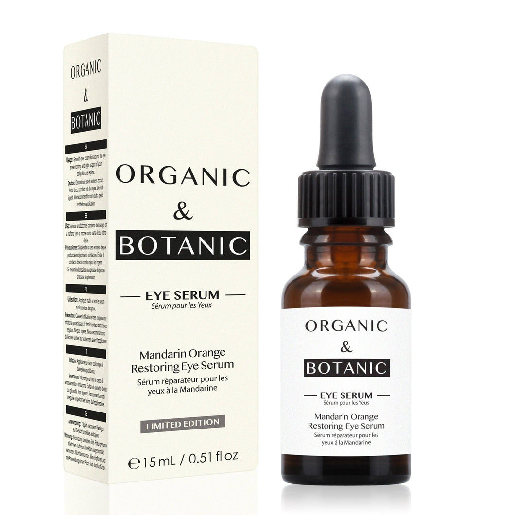 Limited Edition Mandarin Orange Restorative Eye Serum - Dr. Botanicals Skincare