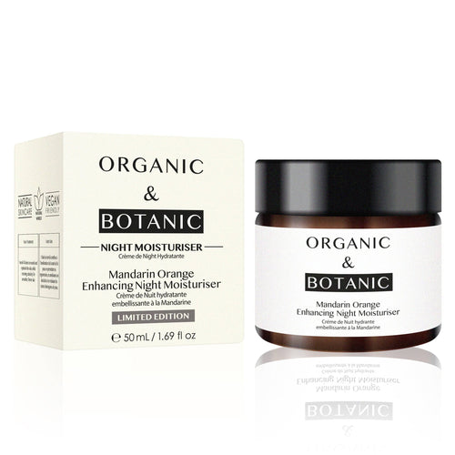 Limited Edition Mandarin Orange Enhancing Night Moisturiser - Dr. Botanicals Skincare