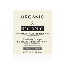 Load image into Gallery viewer, Limited Edition Mandarin Orange Enhancing Night Moisturiser - Dr. Botanicals Skincare