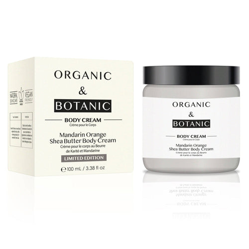Limited Edition Mandarin Orange Shea Butter Body Cream - Dr. Botanicals Skincare