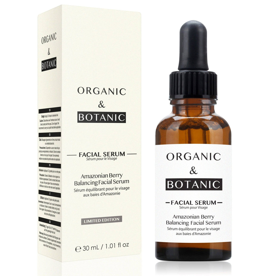 Limited Edition Amazonian Berry Balancing Facial Serum 30ml - Dr. Botanicals Skincare