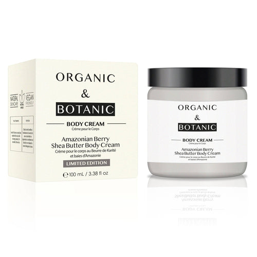 Limited Edition Amazonian Berry Shea Butter Body Cream - Dr. Botanicals Skincare