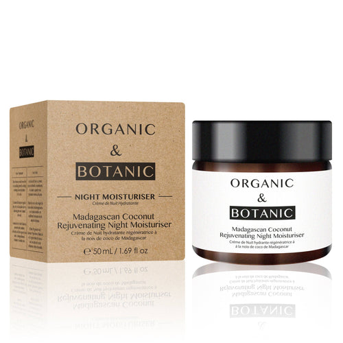 Madagascan Coconut Rejuvenating Night Moisturiser - Dr. Botanicals Skincare