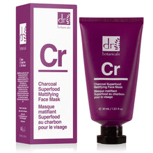 Load image into Gallery viewer, Charcoal Superfood Mattifying Face Mask (30ml)