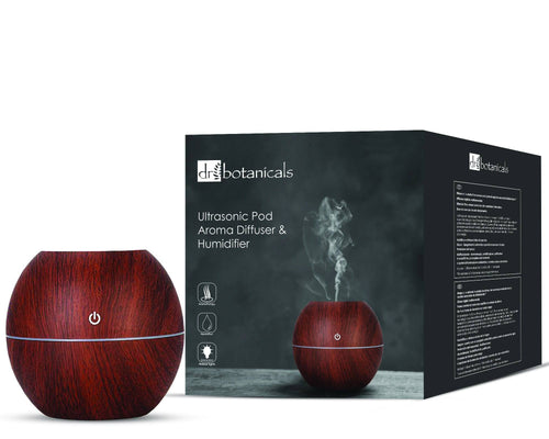 Ultrasonic Pod Aroma Diffuser and Humidifier - Dr. Botanicals Skincare