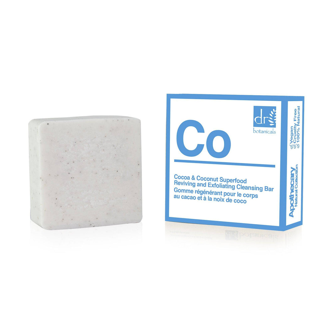 Cocoa and Coconut Superfood Reviving and Cleansing bar