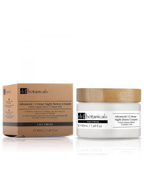 Advanced 12-Hour Night Detox Cream 50ml - Dr. Botanicals Skincare