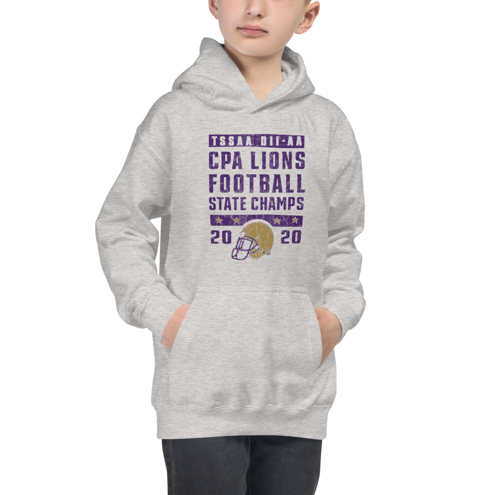 Youth Hoodie 2020 FB State Champs