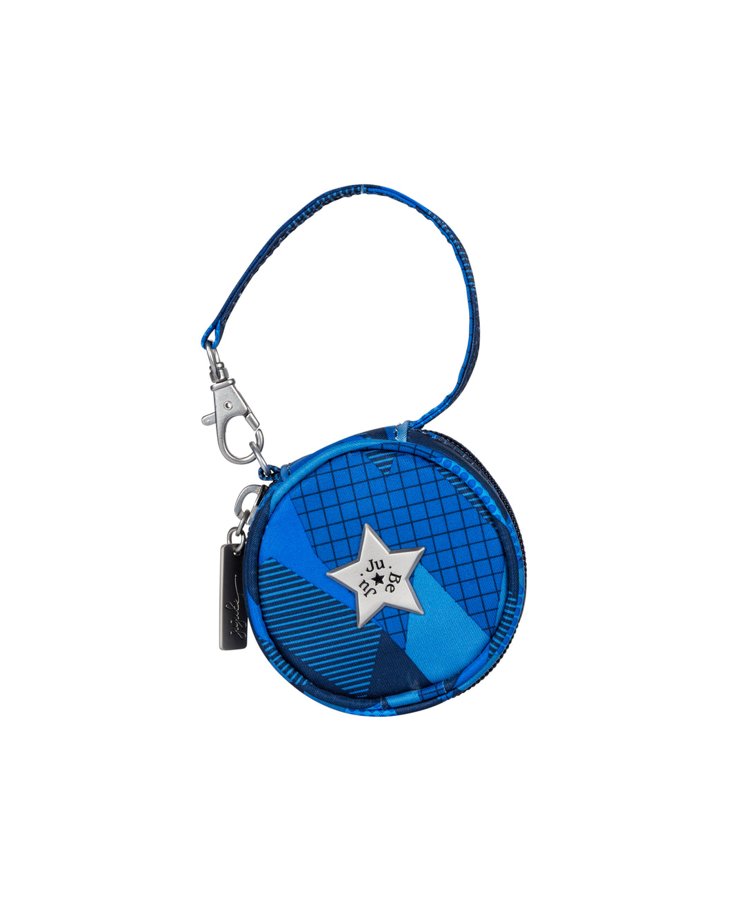 uJuBe Paci Pod Pacifier Holder in Blue Steel