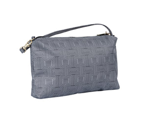 JuJuBe Be Quick Wristlet Wallet in Geo Rear View