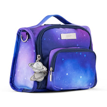 Load image into Gallery viewer, JuJuBe Mini BFF Diaper Bag in Galaxy Sideway View
