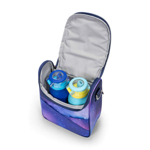 JuJuBe Be Cool Insulated Bag in Galaxy Inside View