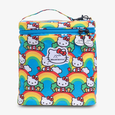 uJuBe Fuel Cell Insulated Bag in Hello Rainbow Front View