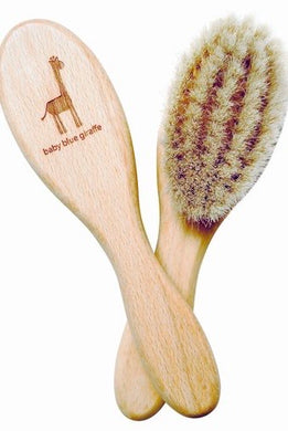 Baby Hair Brush - Goat Hair Bristles