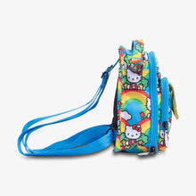 Load image into Gallery viewer, uJuBe Mini BRB Backpack Diaper Bag in Hello Rainbow Side View