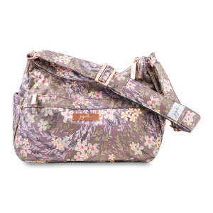 uJuBe Hobobe Purse Diaper Bag in Sakura at Dusk Front View