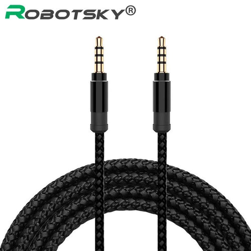 smartphone-king - 3.5mm AUX/Audio Cable with Nylon Braid - 1.5M - Other Cable