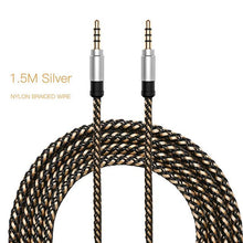 Load image into Gallery viewer, smartphone-king - 3.5mm AUX/Audio Cable with Nylon Braid - 1.5M - Other Cable